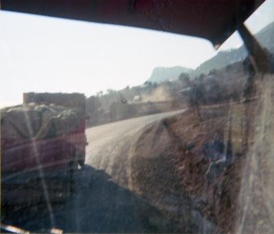 Climbing Tarsus, being overtaken by a Tonka