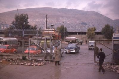 Customs compound, Damascus Syria