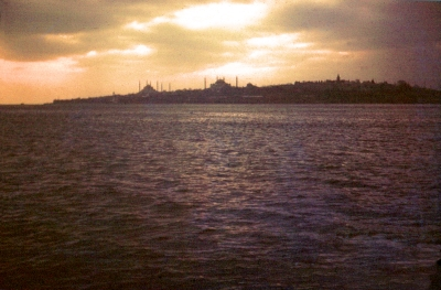 Istanbul from Harem Ferry